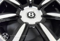 Bentley Customised Alloy Wheel Refurbishment
