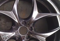 Customised Alloy Wheel Refirbishment