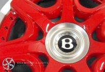 Bentley Customised Alloy Wheel Refibishment