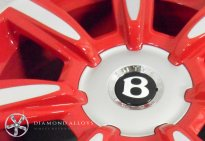 Bentley Custom Alloy Wheel Refurbishment