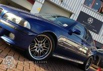 Diamond Alloys Painted BMW Wheels