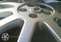 Diamond Alloys Painted Maserati Wheel