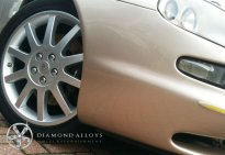 Diamond Alloys Painted Maserati Wheels