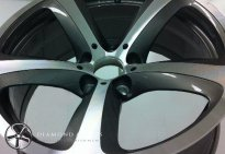 Diamond Cut Alloy Wheel Refurbishment