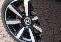 Diamond Cut Bentley Alloy