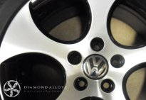 VW Diamond Cut Alloy Wheel Refurbishment