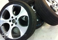 Diamond Cut Alloys Wheel Golf