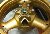 Motor Bike Alloy Wheel Custom Refurbishment