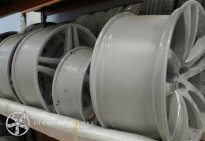 Powder Coating Alloy Wheels