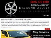 Diamond Alloys newsletter - October 2014