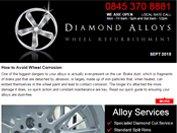 Diamond Alloys newsletter - September 2015