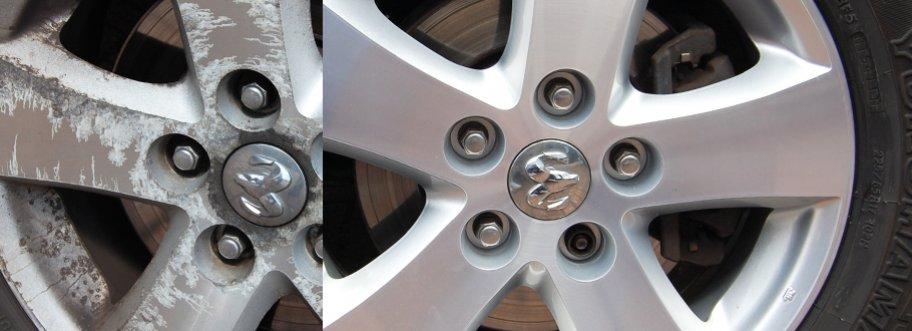 Custom Rim Paint Repairs
