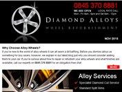 Diamond Alloys newsletter - November 2015