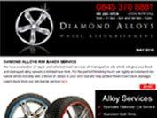 Diamond Alloys newsletter - May 2015