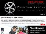 Diamond Alloys newsletter - July 2015