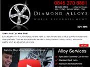 Diamond Alloys newsletter - Januray 2016