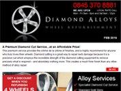 Diamond Alloys newsletter - February 2016