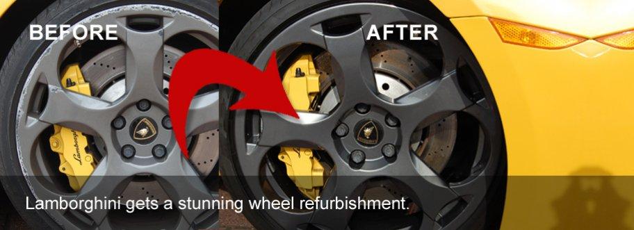 Lamborghini gets a stunning refurbishment.