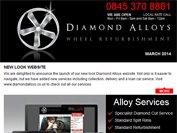 Diamond Alloys newsletter - March 2014