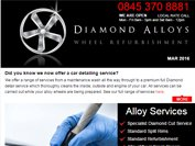 Diamond Alloys newsletter - March 2016
