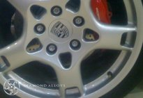 Porsche Standard Alloy Wheel Refurbishment
