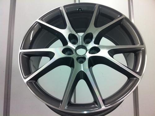 Refurbished Ferrari California Alloys Wheels - Diamond Alloys