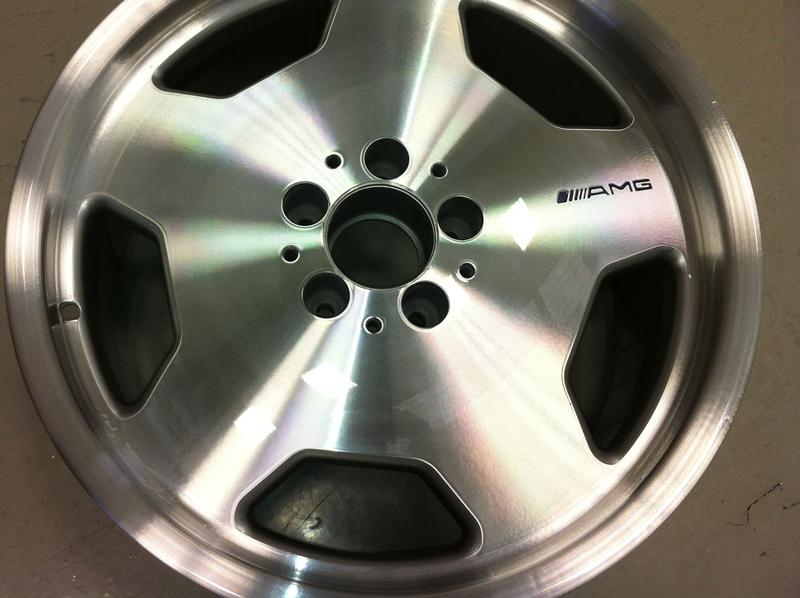 Mercedes benz c43 amg wheels diamond alloys for Mercedes benz amg alloy wheels