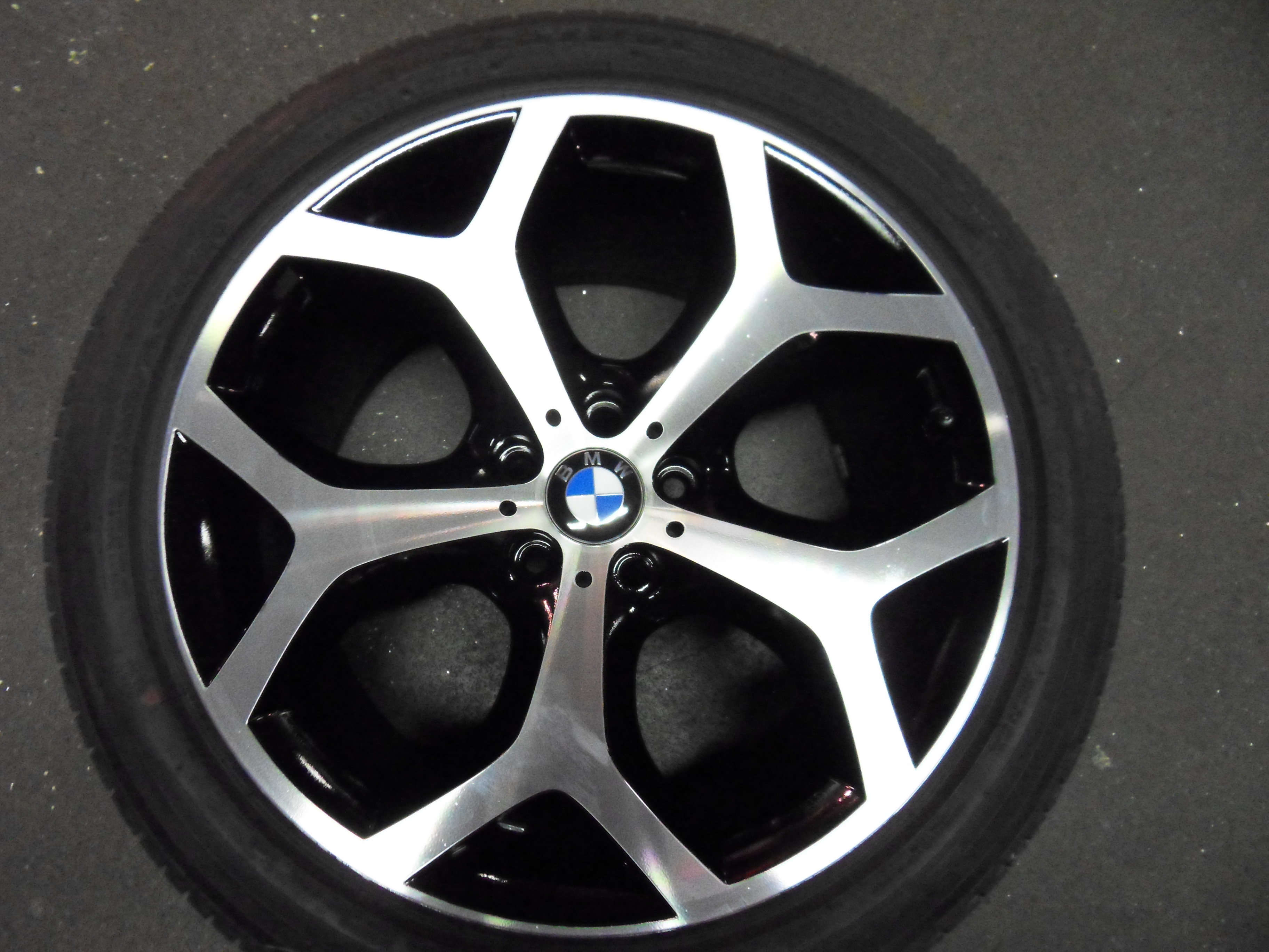 bmw will pay for replacement alloys - diamond alloys
