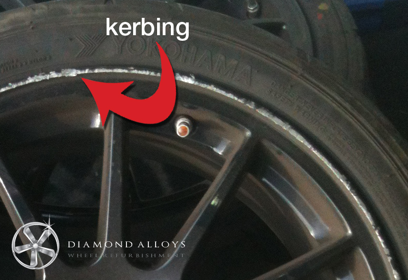 kerbing-damage