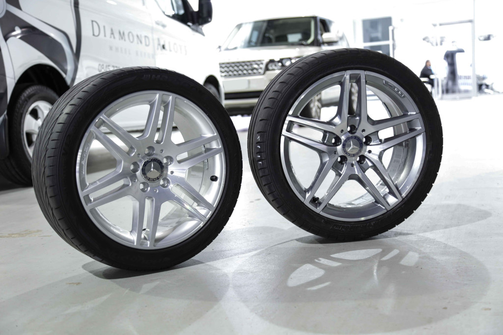 mercedes c class alloy wheel refurbishment diamond alloys