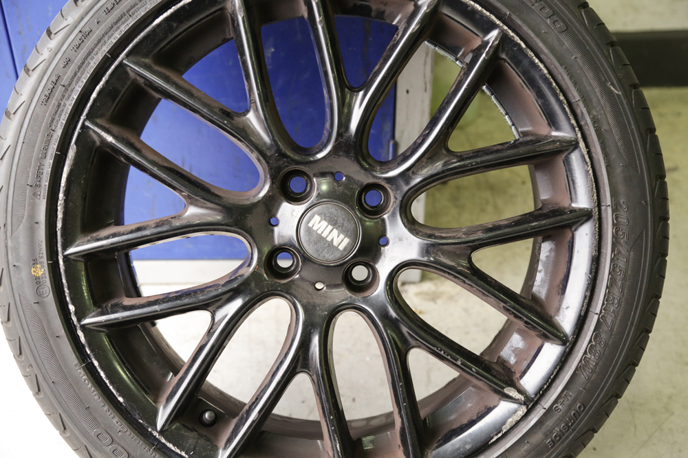 how to clean brake dust off alloy rims